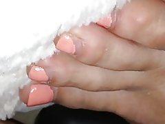 Dziewczyna stopy